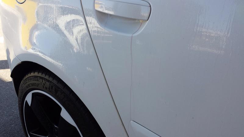 frask Vs Audi A3 Sportback S line bianco pastello 810