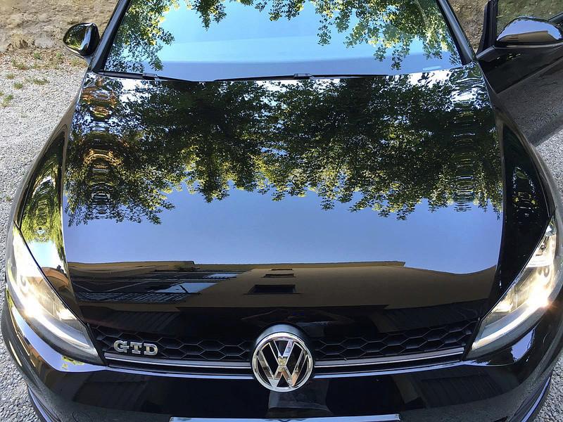 frask Vs VW Golf Gtechniq C0v2 Img_1110