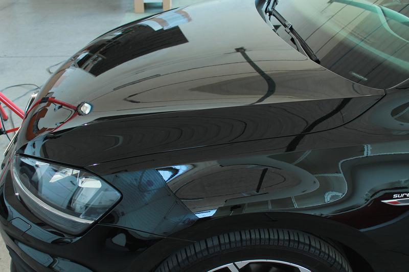 frask Vs VW Golf Gtechniq C0v2 Img_310