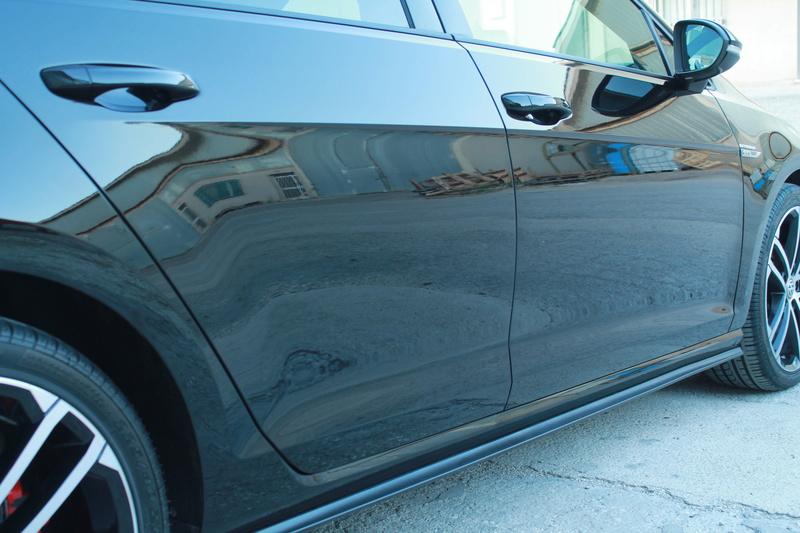 frask Vs VW Golf Gtechniq C0v2 Img_810