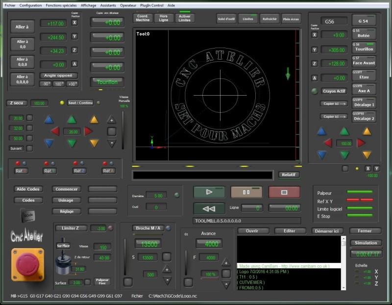 Nouveau screen pour Mach3 Commen10