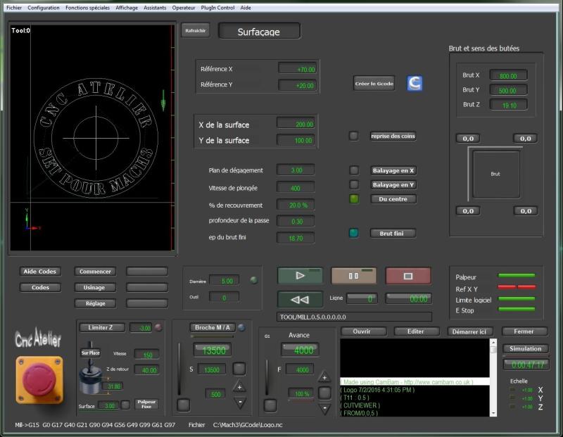 Nouveau screen pour Mach3 Surfac10