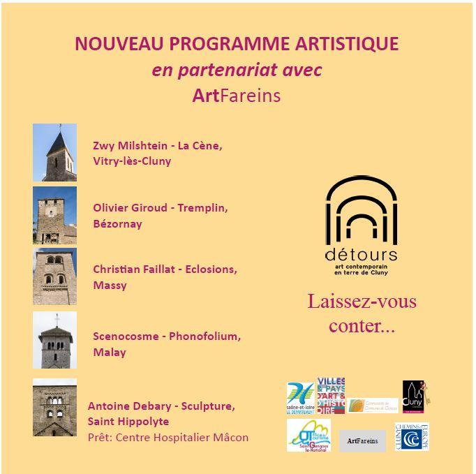Saint-Hippolyte : étape de DETOURS, art contemporain en terre de Cluny, à partir du 7 juillet Detour12