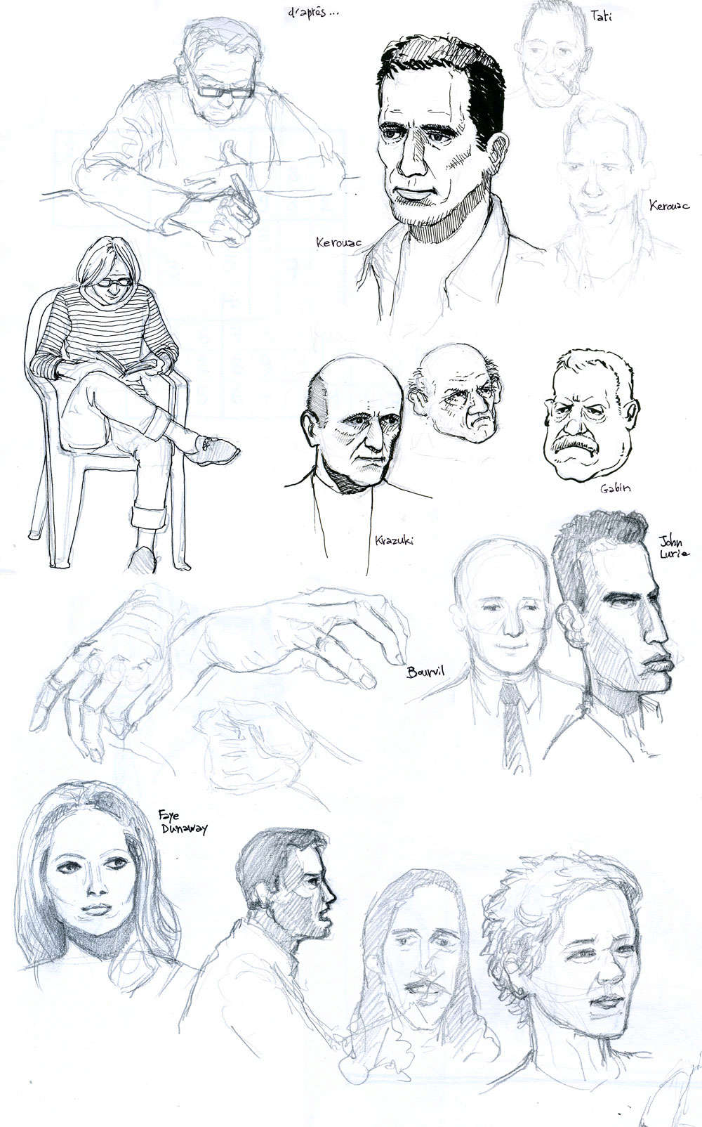 Croquis de Zongo - Page 13 Visage11