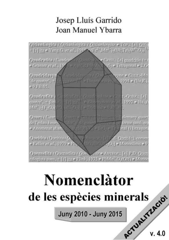 minerals - Actualització del 'Nomenclàtor de les espècies minerals' (versió 4.0) Actual10