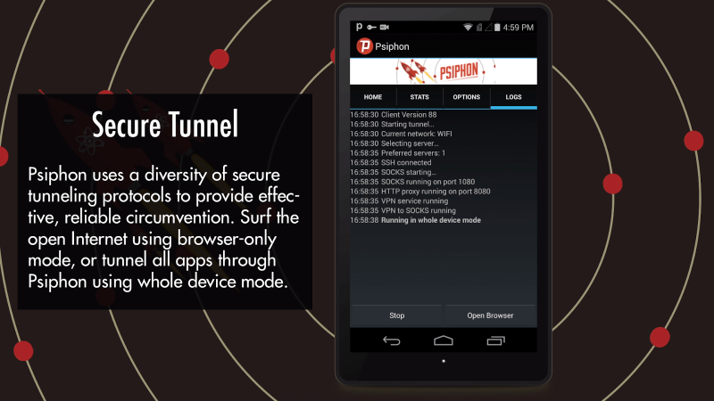 Psiphon Pro v125 [Subscribed] Cracked APK 5-410