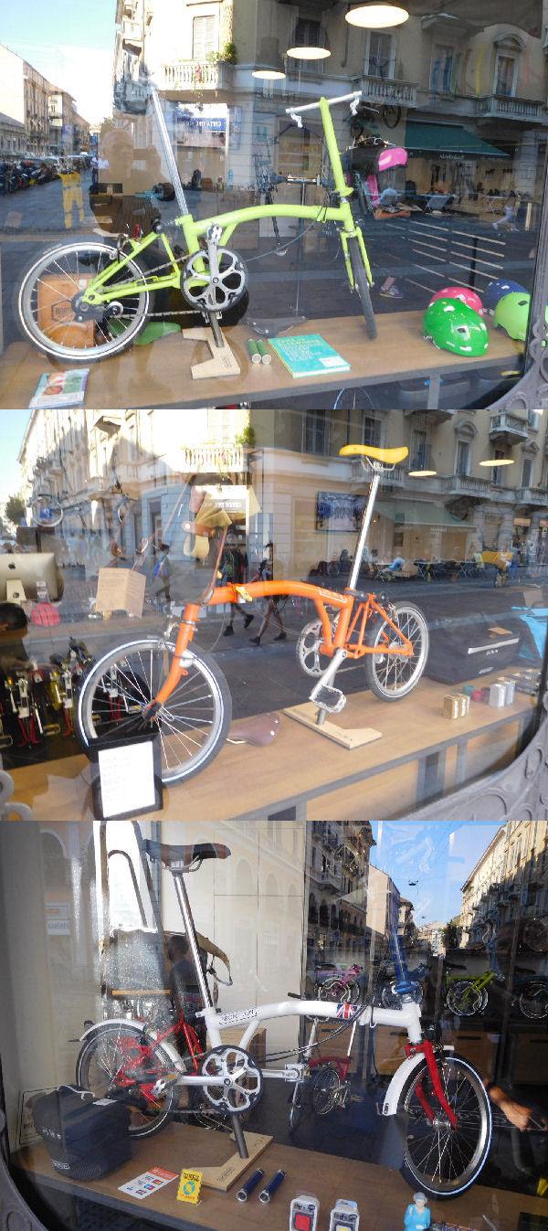 Photos Brompton Junction de Munich et Milan Brompt12
