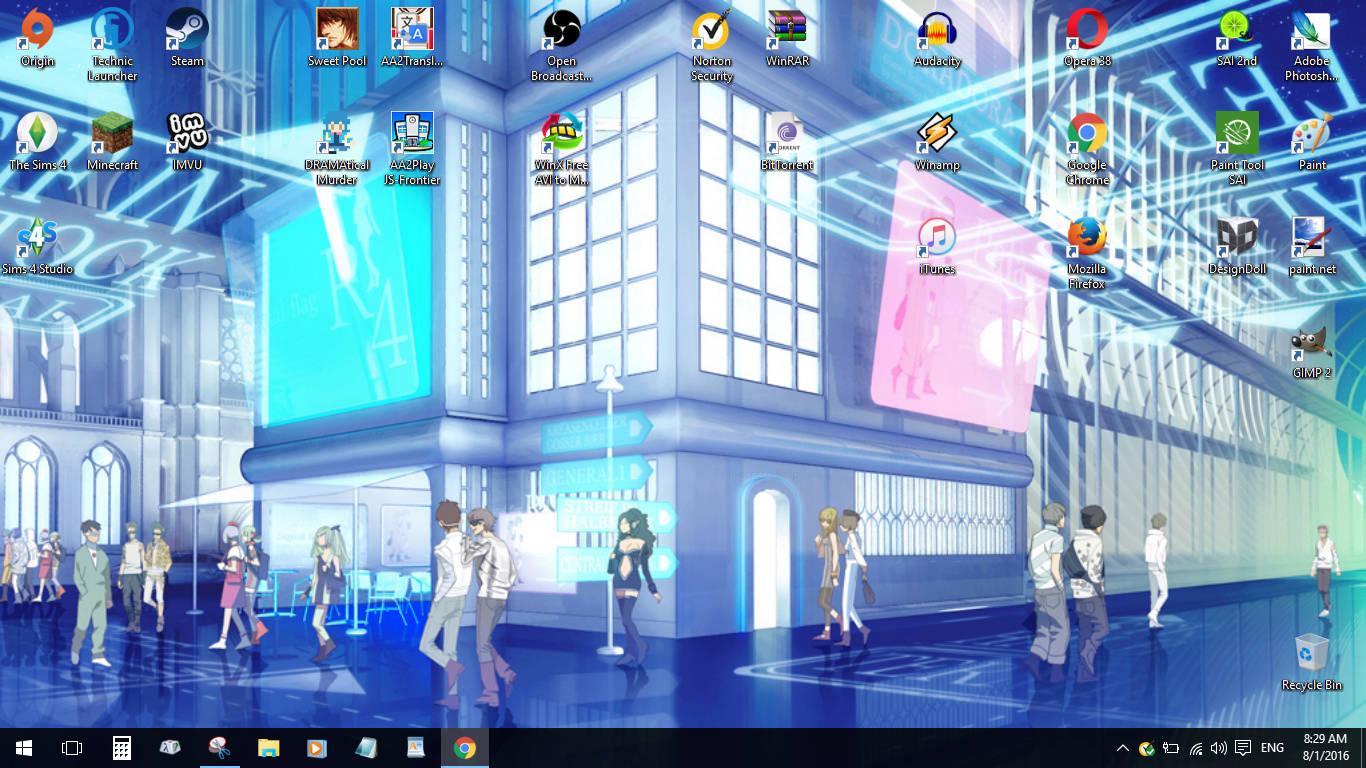 Show off your Desktop! Deskto10