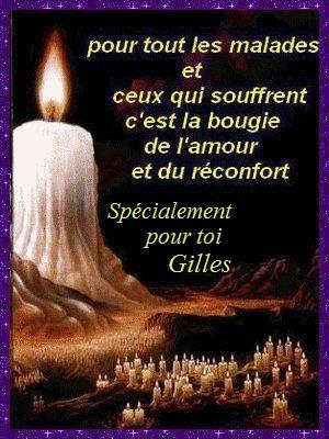 PRIERE pour notre Frère GILLES - Page 5 Bougie10
