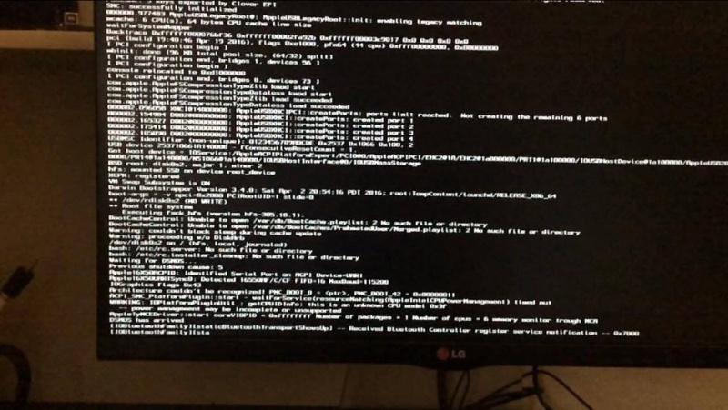 Problème Installation El Capitan x99 5820k 13509710