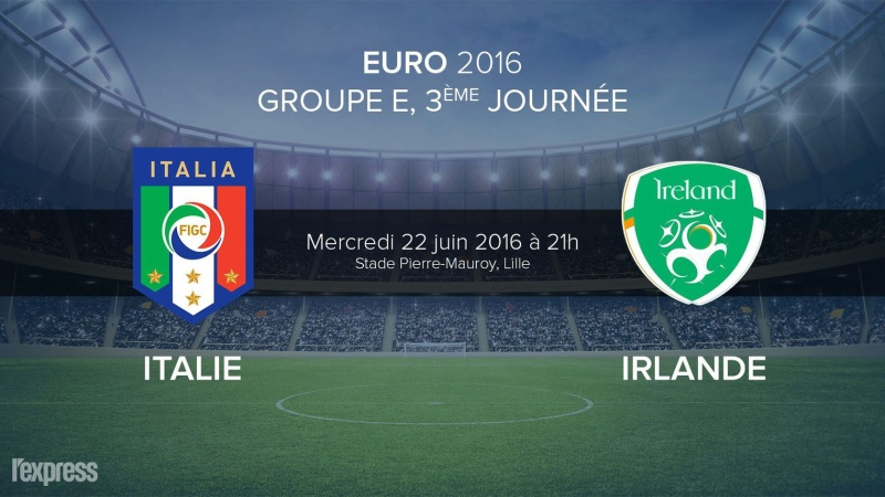 Euro 2016 • Italie Vs Irlande 113
