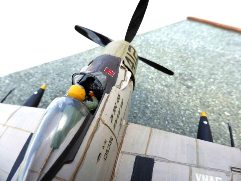 [TAMIYA] Douglas A1 Skyraider: rénovation d'un souvenir Skyr0210