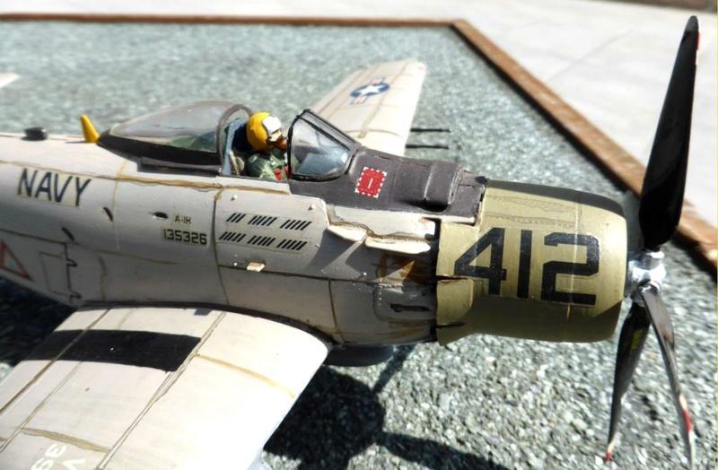 [TAMIYA] Douglas A1 Skyraider: rénovation d'un souvenir Skyr0310