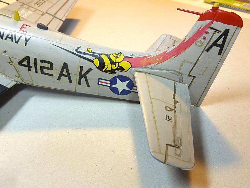 [TAMIYA] Douglas A1 Skyraider: rénovation d'un souvenir Skyr0610