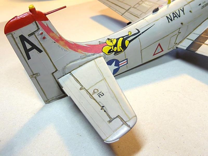 [TAMIYA] Douglas A1 Skyraider: rénovation d'un souvenir Skyr0710