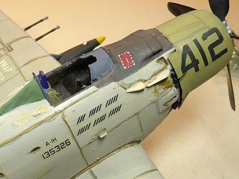 [TAMIYA] Douglas A1 Skyraider: rénovation d'un souvenir Skyr0810