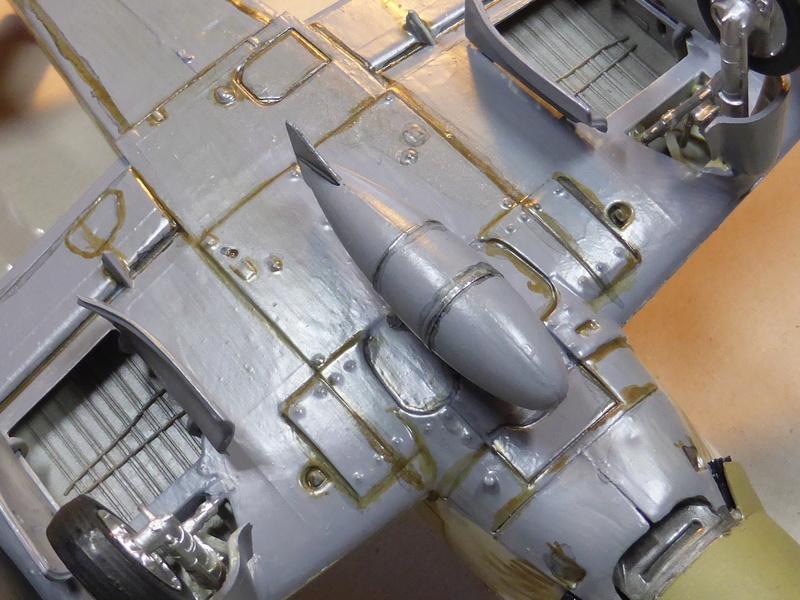 [TAMIYA] Douglas A1 Skyraider: rénovation d'un souvenir Skyr1010