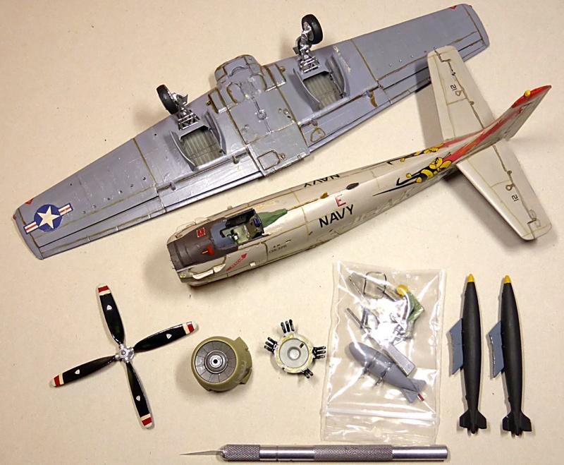 [TAMIYA] Douglas A1 Skyraider: rénovation d'un souvenir Skyr1510