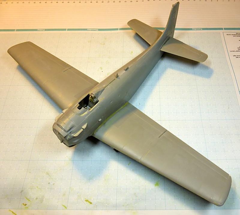 [TAMIYA] Douglas A1 Skyraider: rénovation d'un souvenir Skyr2010