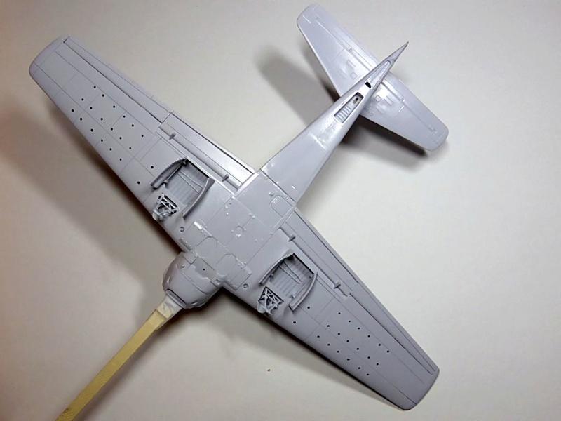 [TAMIYA] Douglas A1 Skyraider: rénovation d'un souvenir Skyr2310