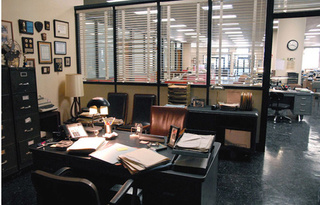 Büro Detective Green Static10