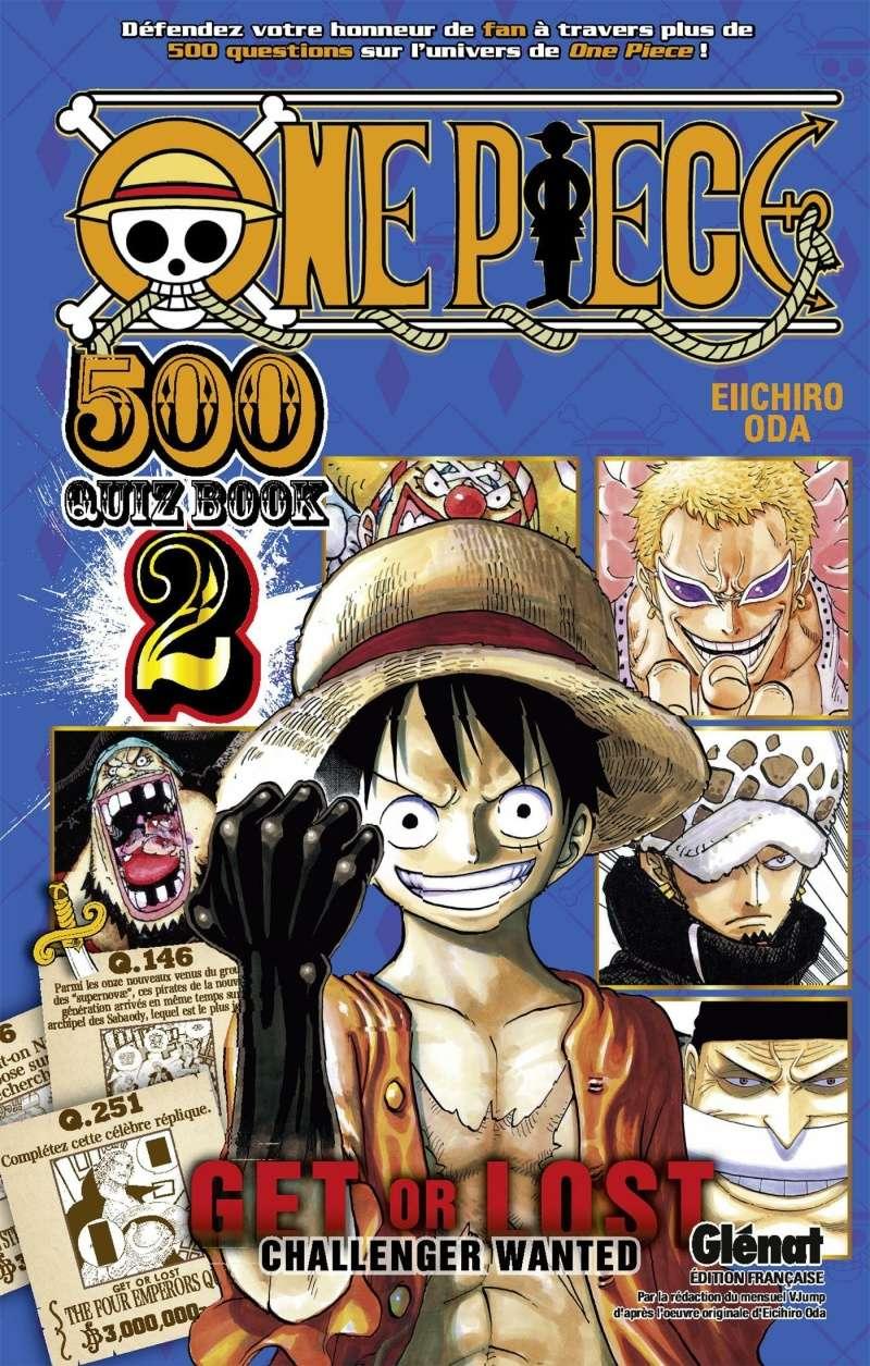 One Piece 500 Quiz Book 2 One-pi10