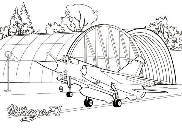 honneur au Mirage F1 : le F1 CT - Page 2 Colori10