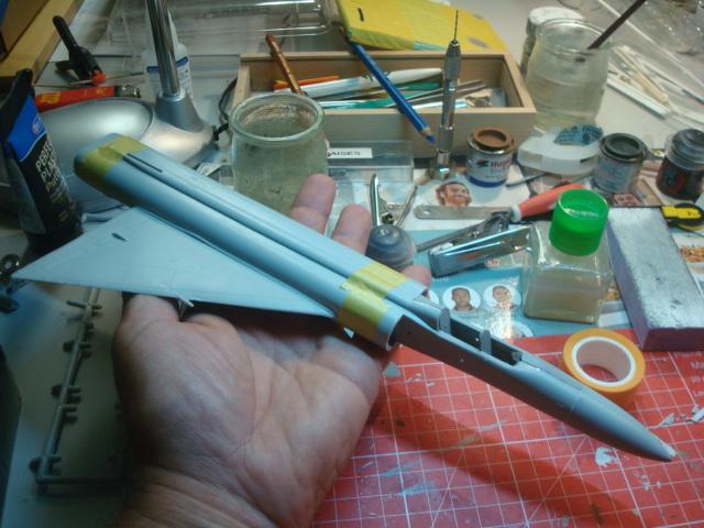 Lavochkin LA  250 Anaconda. Le diorama - Page 2 Dsc07017