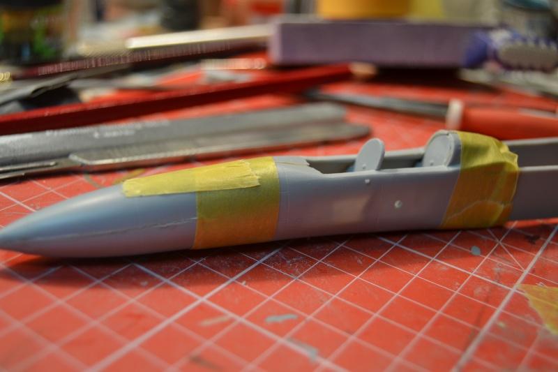 Lavochkin LA  250 Anaconda. Le diorama Dsc_5111