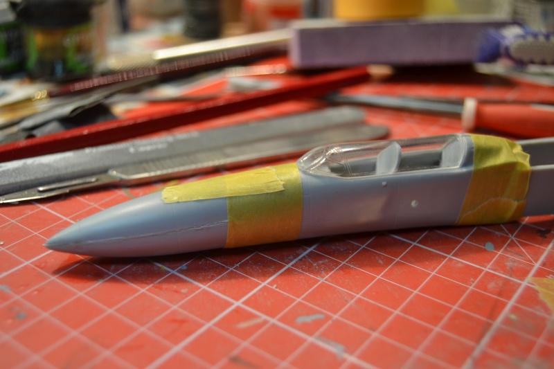 Lavochkin LA  250 Anaconda. Le diorama Dsc_5112