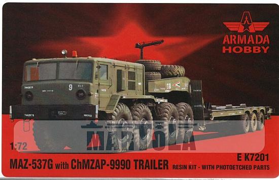 MAZ 537 G + Remorque MAZ/ChMZAP-5247G Mar13811