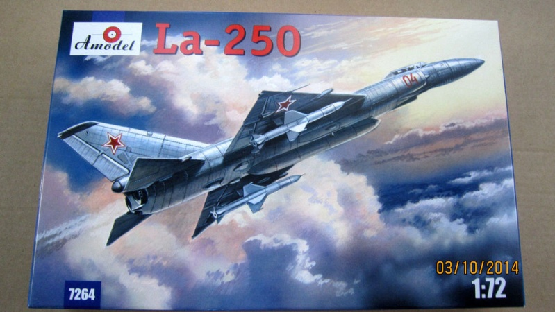 Lavochkin LA  250 Anaconda. Le diorama S-l10010