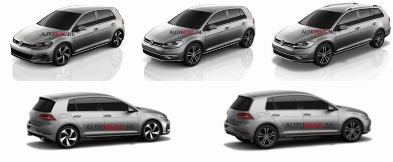2016 - [Volkswagen] Golf VII restylée 2017-v11
