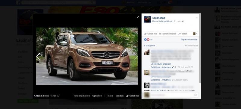 2017 - [Mercedes] Classe X Pickup - Page 2 Merce115