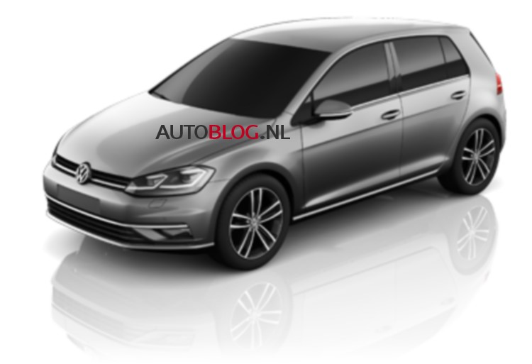 2016 - [Volkswagen] Golf VII restylée Volksw70