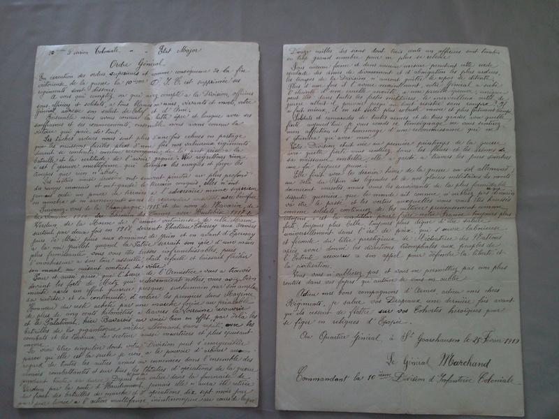 Ma collection : uniformes-coiffures-archives de la Coloniale et la colonisation - Page 8 Photo144