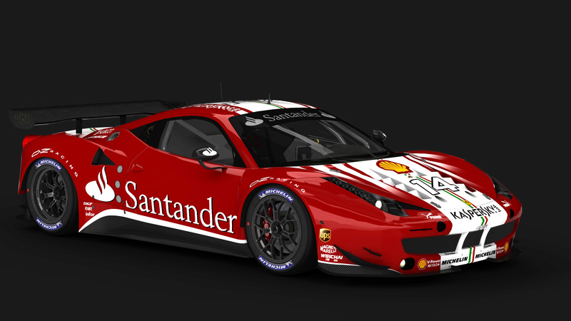 Ferrari F458 GT2 Scuderia F1 Team 2016 by lrt F1_tea10