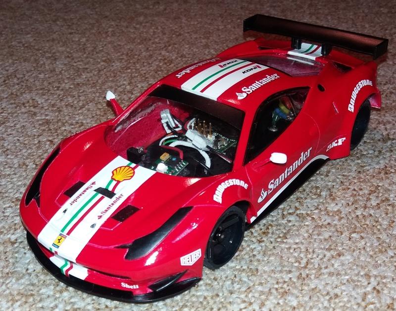 Ferrari F458 GT2 Scuderia F1 Team 2016 by lrt F1_tea16