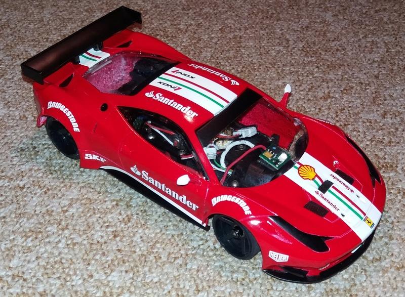 Ferrari F458 GT2 Scuderia F1 Team 2016 by lrt F1_tea18