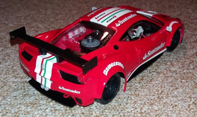 Ferrari F458 GT2 Scuderia F1 Team 2016 by lrt F1_tea21