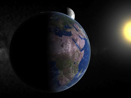 اخطر فيديو ظهور علامات يوم القيامة التى نصها القرآن والسنة  Earth-10