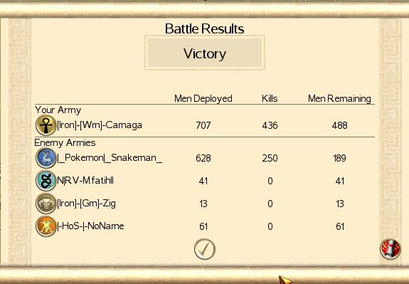 Camaga's victories Raif10