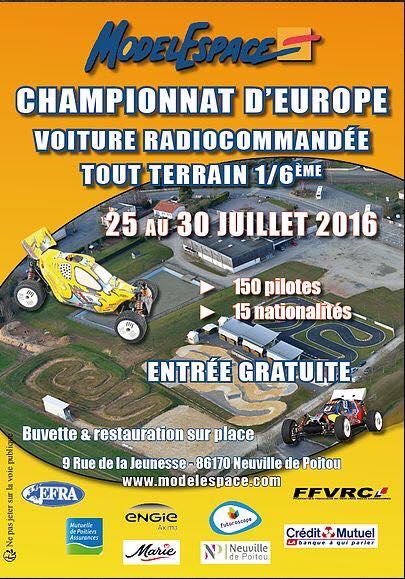 Championnat europe T.T 1/6,Modelespace,Neuville 86 13590210