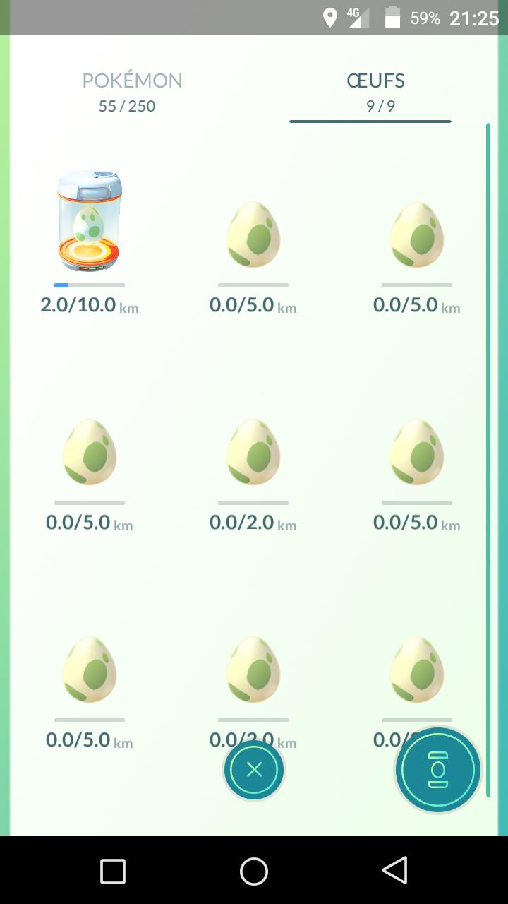 Pokémon GO ? Pokémon GO. Screen10