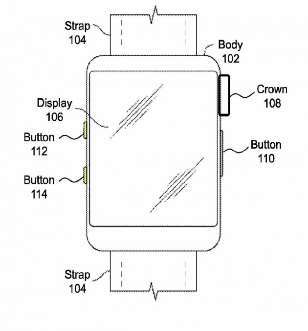 Brevettato un Apple Watch con fotocamera e nuovi tasti hardware Https_10