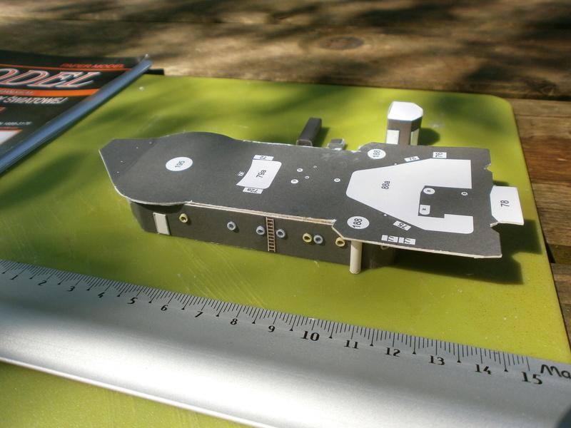 IJN YUBARI paper-card model au 1/200 de ADW MODEL - Page 2 P7250011