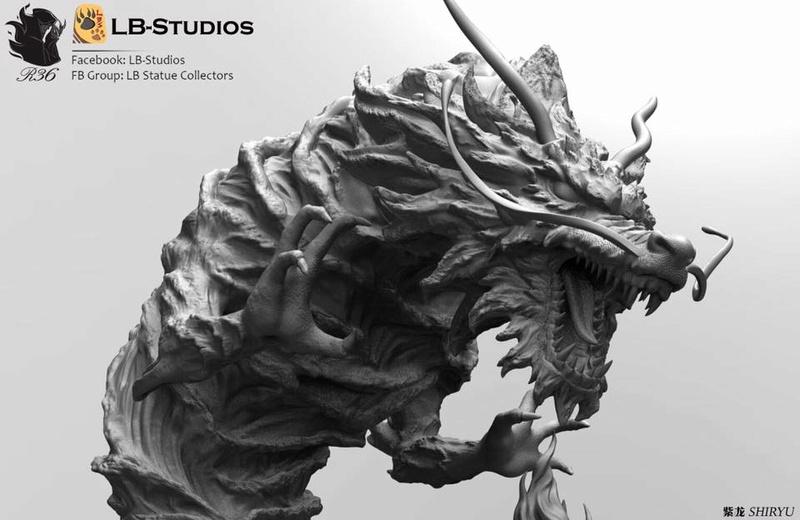 [LB-Studios] Shiryu V3 (Résine) Lb110