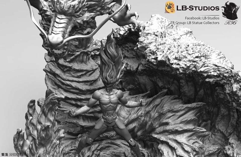 [LB-Studios] Shiryu V3 (Résine) Lb510