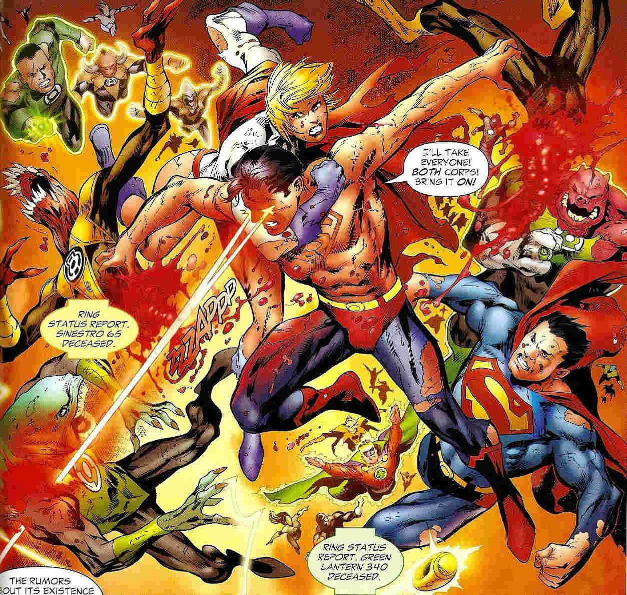 Superboy Prime Respect Thread Green-10