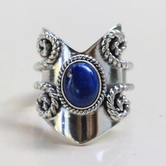 FS: Lapis Chevron Ring By Donbiu Lap10